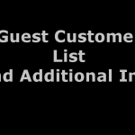 Opencart Gues Customer List and Additional Info